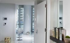 couloirs intérieurs appartement mer