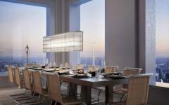 salle à manger ultra luxe appartement de luxe