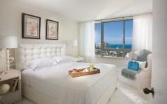 chambre design moderne appartament de vacances floride