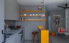 petite cuisine aménagée studio