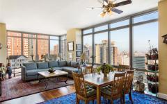 pièce principale vue panoramique new york gratte-ciel luxe
