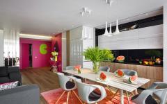 Salon design original appartement de ville luxe