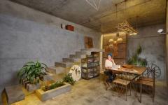 intérieur atypique logement de ville