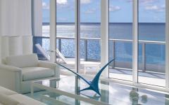 design élégant et luxueux vue sur la mer