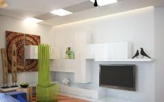 ameublement design logement de ville russe