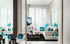 intérieur lumineux moderne appartement luxe