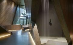 intérieur en bois massif agencement original
