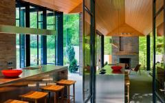 intérieur design minimaliste pavillon de ville