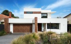 architecture moderne maison de ville familiale belle demeure