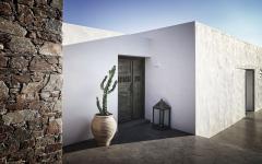 murs extérieurs propriétés de luxe exotique grèce