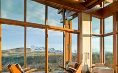 vue panoramique chalet de montagne prestige
