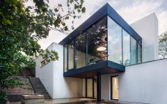 façade belle demeure contemporaine rénovation