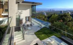 espace outdoor résidence de luxe millionnaire hollywood