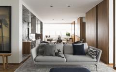design intérieur appartement masculin et minimaliste