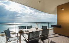 belle vue balcon appartement de vacances pattaya