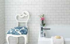 baignoire design épurée simple en blanc