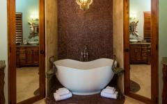design salle de bains unique villa de rêve
