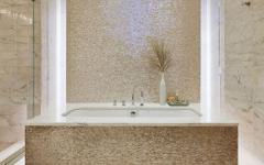 salle de bains élégante baignoire