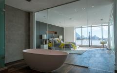 salle de bains luxe dans la chambre