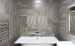 salle de bain baignoire marbre