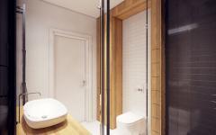 douche salle de bains design moderne
