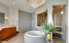 salle de bain design luxueux appartement