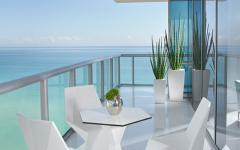 balcon appartement de vacances luxe