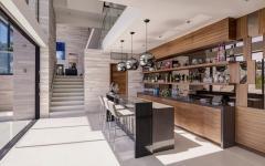 bar terrasse belle demeure de luxe hollywood