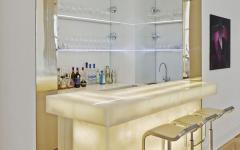 comptoir intérieur luxe classe belle demeure contemporaine