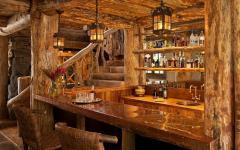 maison de charme bar d'intérieur