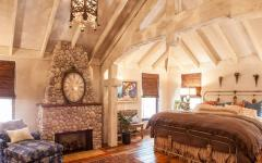 décoration design chambre rustique en bois