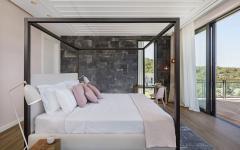 chambre de maitres avec vue et balcon
