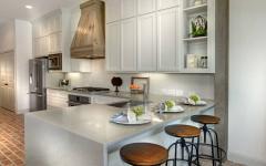 belle demeure cuisine ouverte américaine aménagée