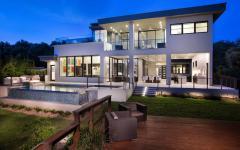 Maison contemporaine d'architecte au design moderne