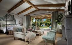 intérieur de luxe mobilier design ambiance vacances californie