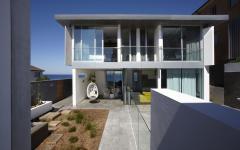 maison moderne sur la plage