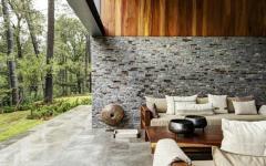 superbe résidence d'archi en pierre et bois