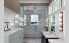 Design salle de bains moderne douche