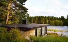 maison au bord du lac architecte