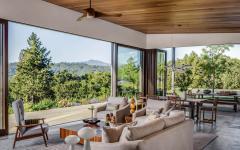 intérieur séjour belle vue maison de luxe secondaire vacances