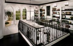 escalier étage maison secondaire côtière