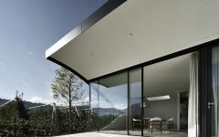 concept originale de maison contemporaine vacances en montagne