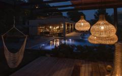 extérieure terrasse romantique villa luxe à louer
