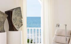 vue magnifique sur la mer villa de vacances italie
