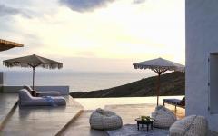 villa de vacances avec belle vue terrasse piscine