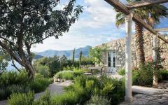 extérieur et jardin exotique maison de campagne