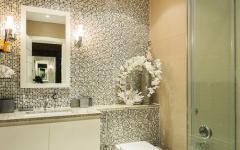 salle de bains design moderne clair