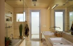 salle de bain design agencement pratique