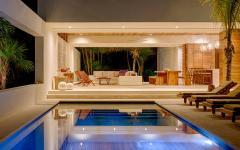 piscine exotique villa de luxe