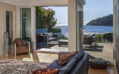 belle vue depuis maison rénovée familiale d'architecte